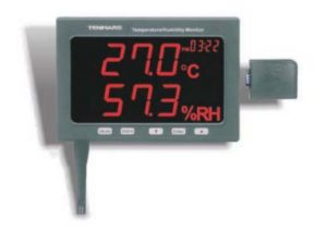 Indicatore a parete di umidità e temperatura